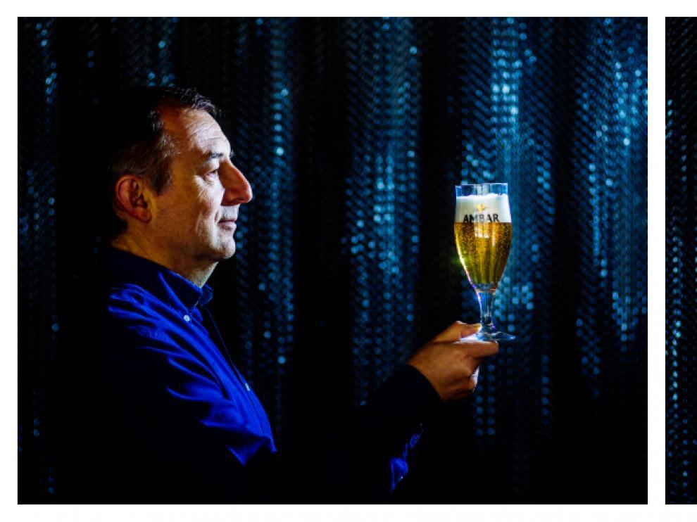 Antonio Fumanal, maestro cervecero, y Angel Campo, beer somelier.