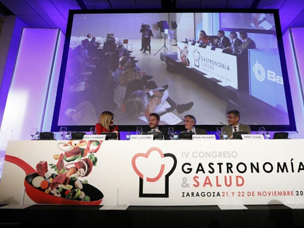 Inauguración del Congreso de Gastronomía y Salud.