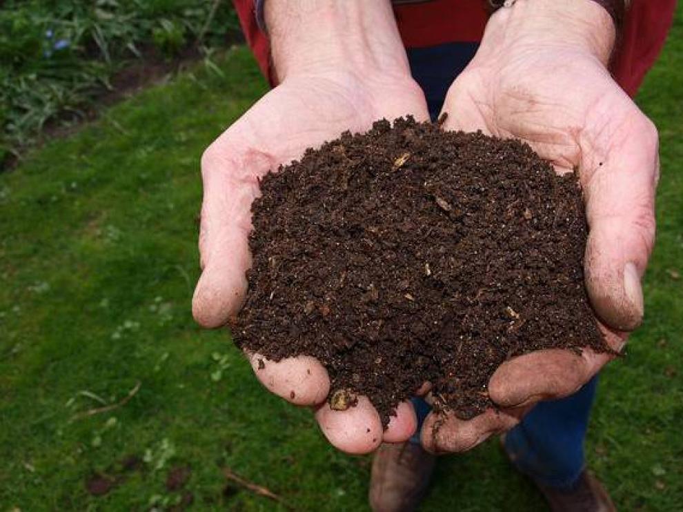El compost es un abono resultado del procesamiento de residuos orgánicos.