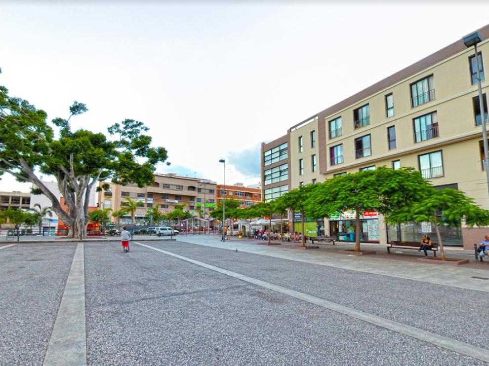 Ocurrió en la zona de la plaza del tranvía de La Laguna.