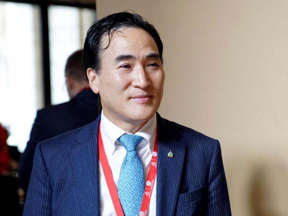 Kim Jong Yang, el nuevo presidente de la Interpol.