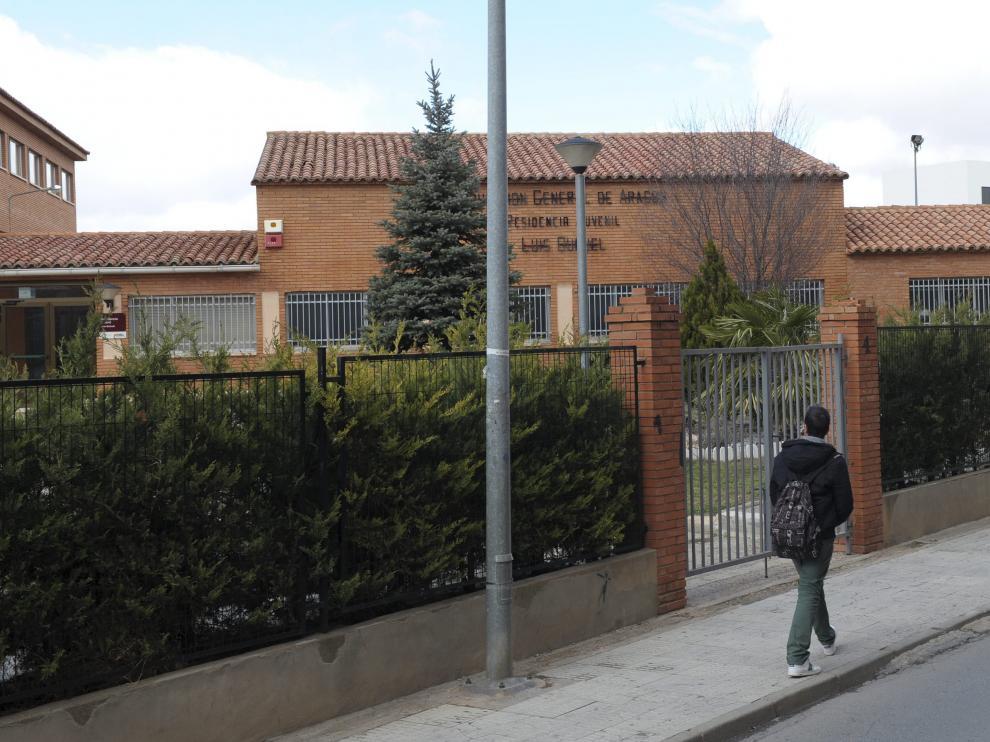 La residencia de estudiantes Luis Buñuel, cerrada desde 2012.