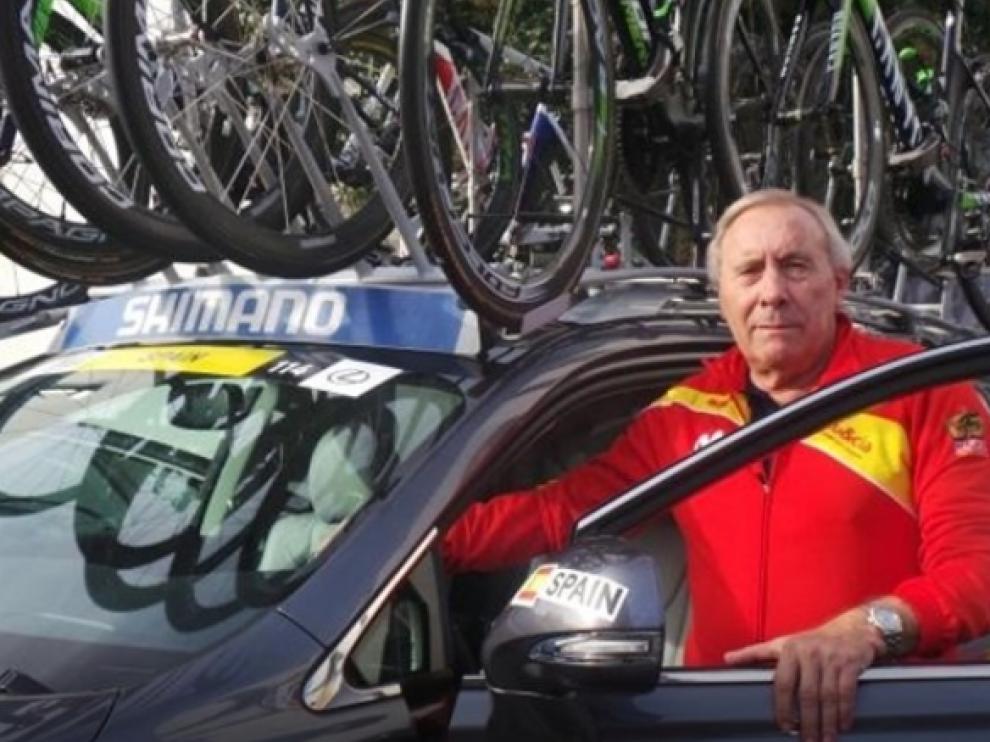 El seleccionador nacional de ciclismo, Javier Mínguez.