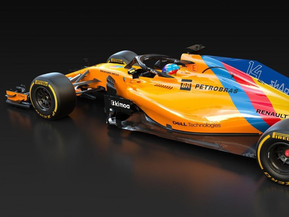 McLaren diseña un coche único para la última carrera de Alonso en la Fórmula 1.
