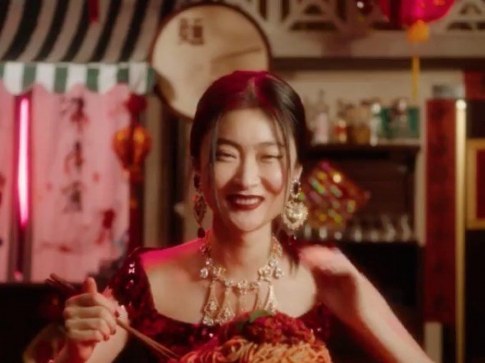 Imagen del polémico vídeo de Dolce & Gabbana.