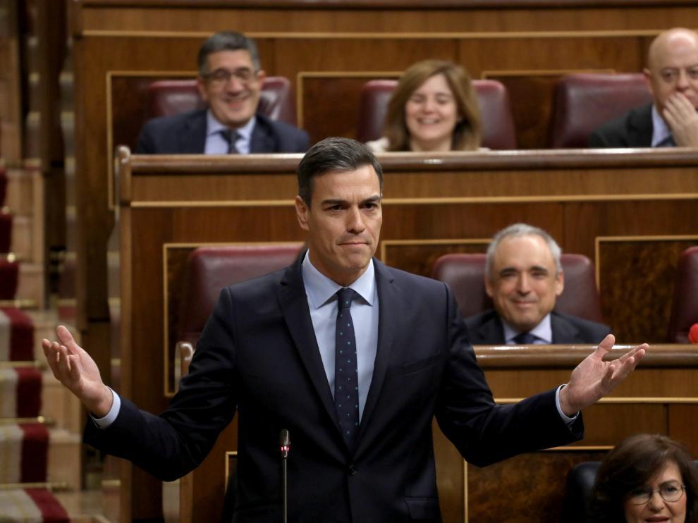 Pedro Sánchez, presidente del Gobierno español.