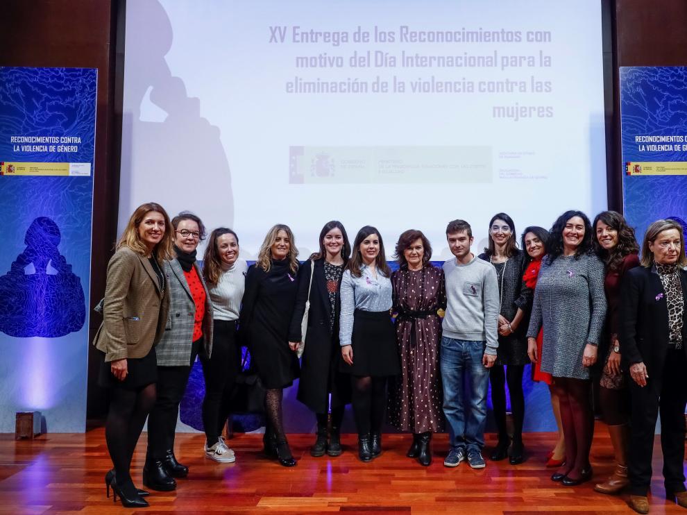 Acto institucional en Madrid con motivo del Día contra la Violencia de Género.
