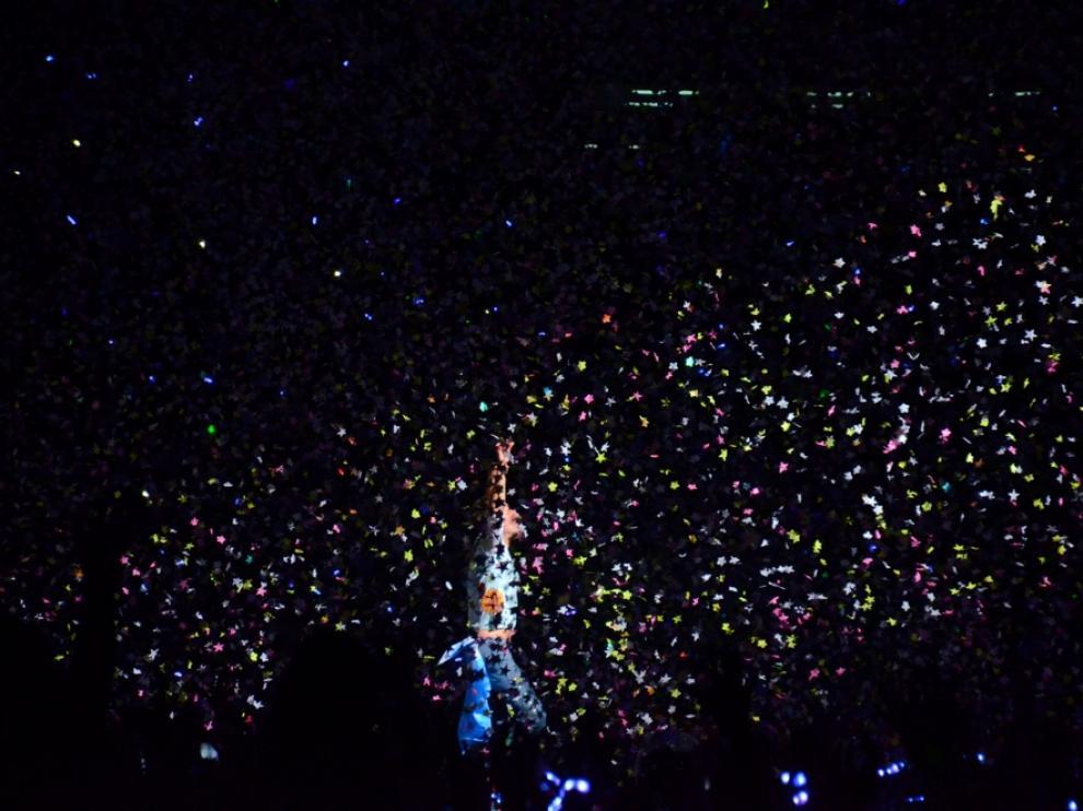 Imagen del último concierto de la gira 'A head full of dreams' compartida por Coldplay desde su blog