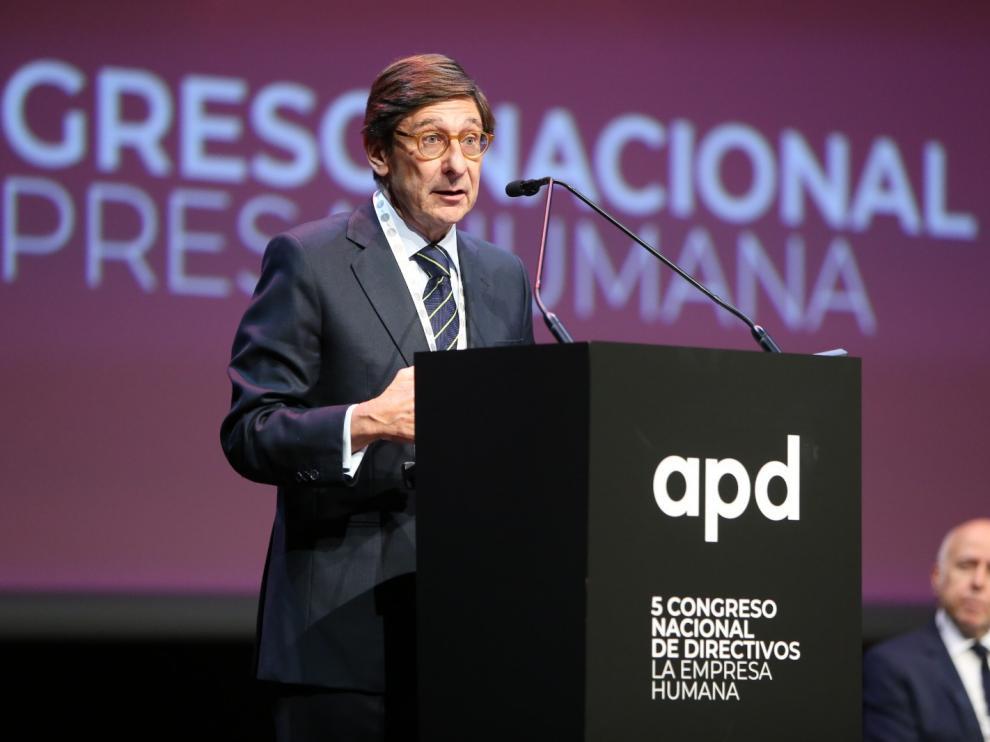 El presidente de Bankia, en el Congreso de APD en Barcelona