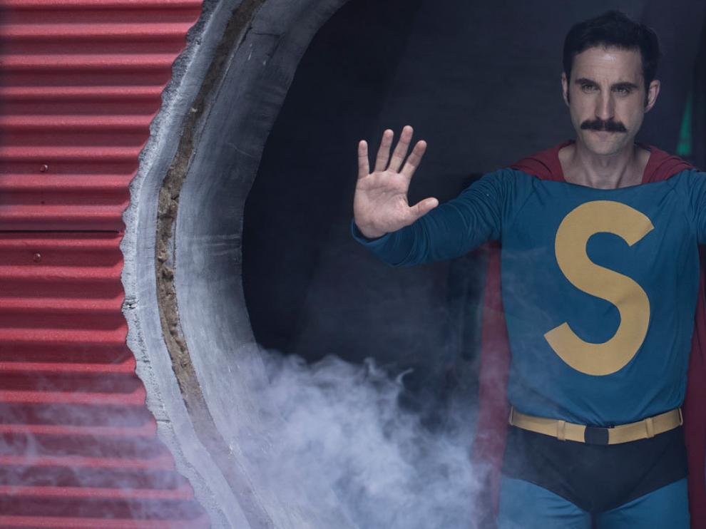 Dani Rovira se mete en el papel de este atípico personaje.