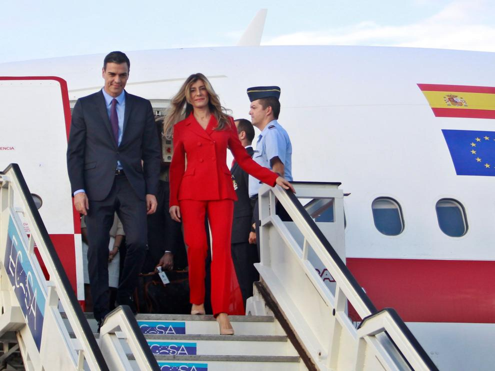 Visita de Pedro Sánchez a Cuba