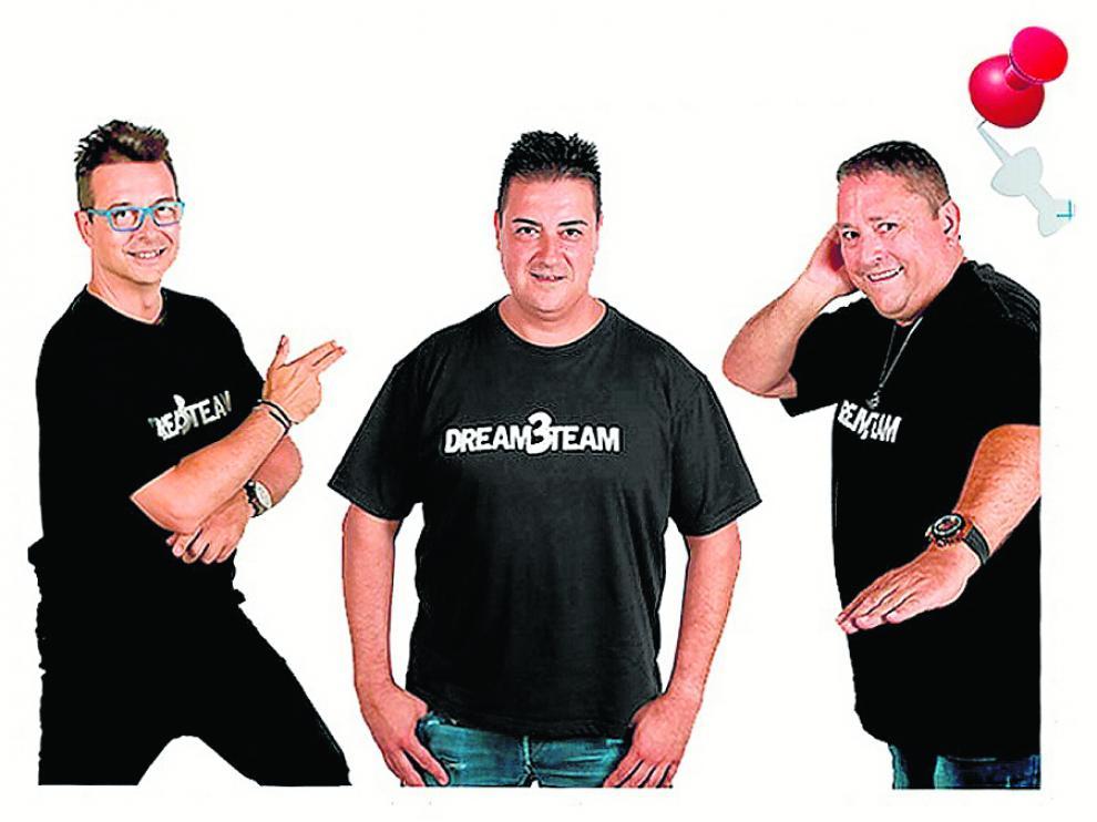 Toni Peret, José María Castells y Quique Tejada, el 'Dream Team Reload', que actúan en el concierto de Yo fui a EGB. La gira! que se celebra el sábado.
