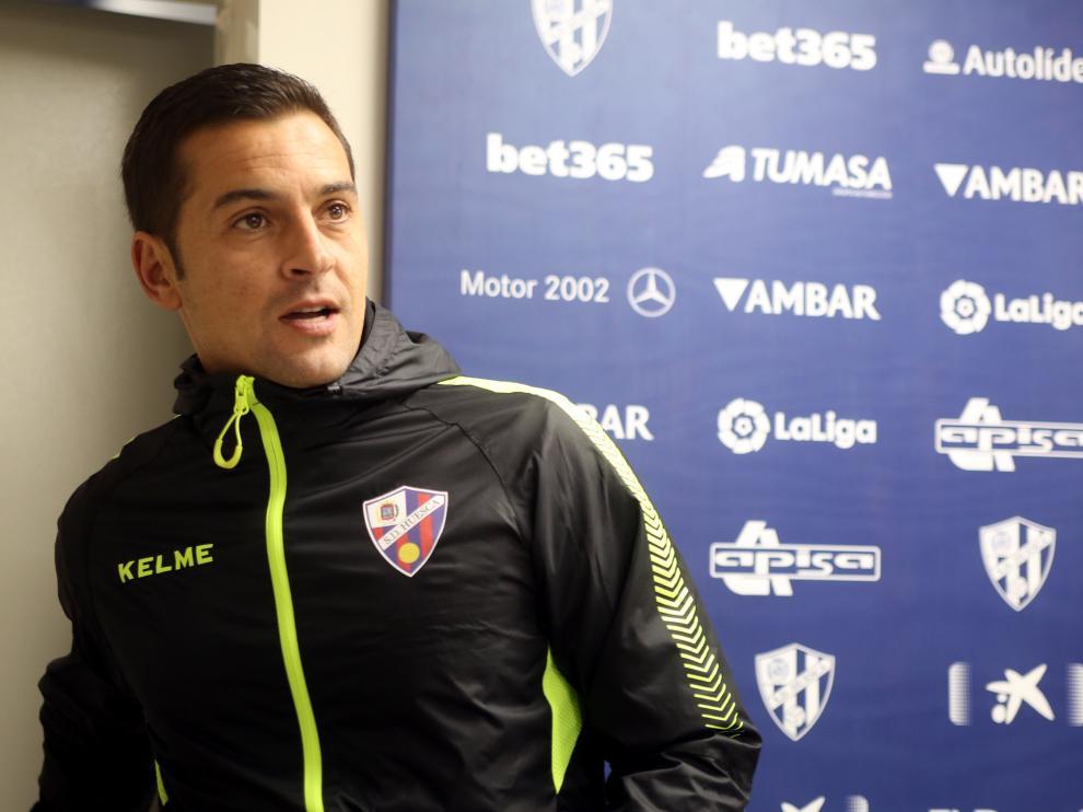 Francisco, durante la rueda de prensa de este viernes.