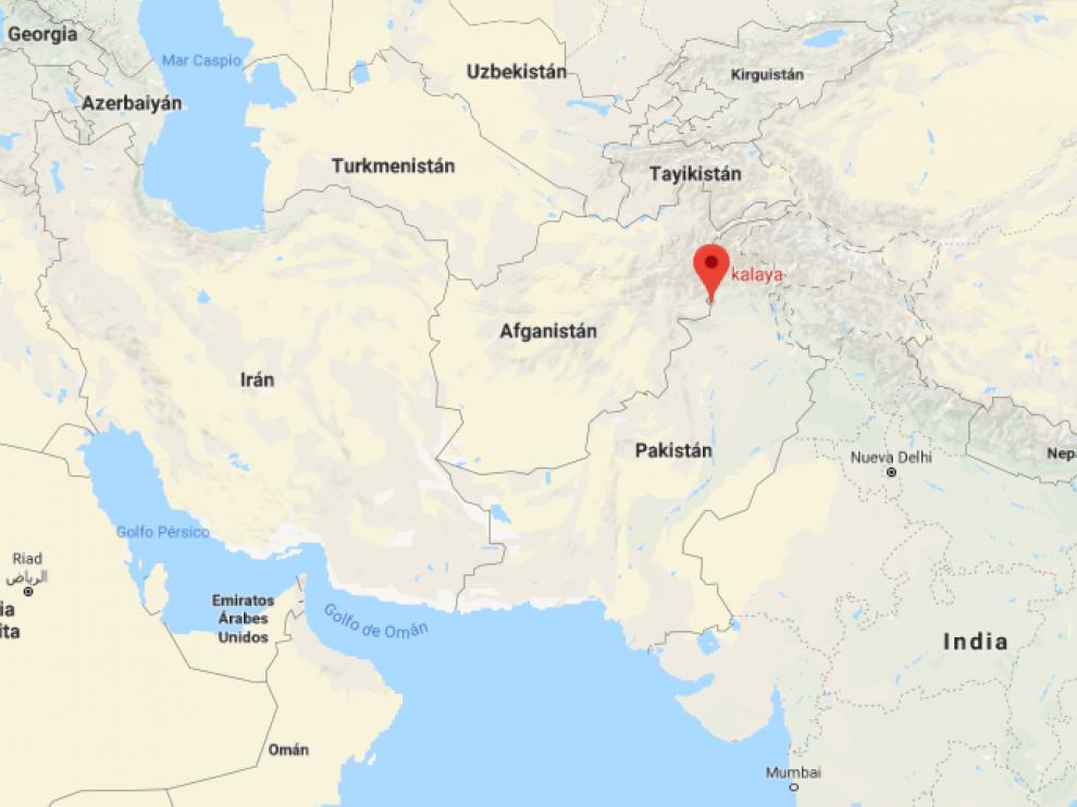 La deflagración ha tenido lugar en la entrada de un seminario religioso en la localidad de Kalaya