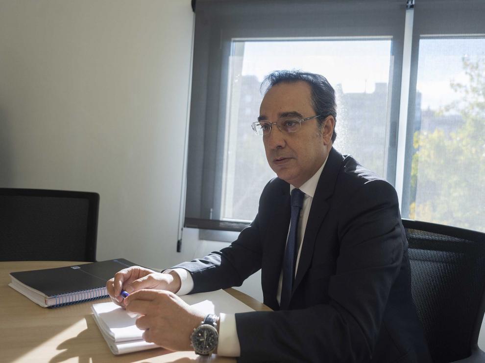 Ignacio Montaner, director general de Endesa en Aragón