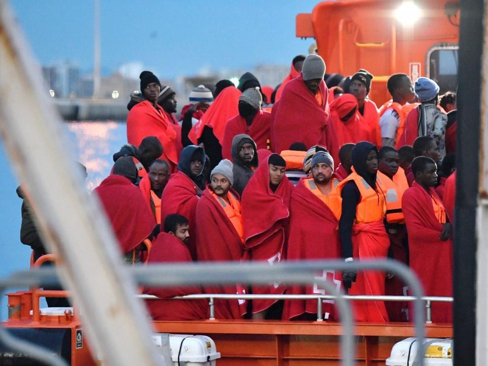 Este juevesel centro coordinador de Salvamento Marítimo de Almería dirigió el rescate de 894 personas