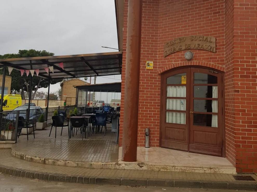 Bar social de La Almolda.
