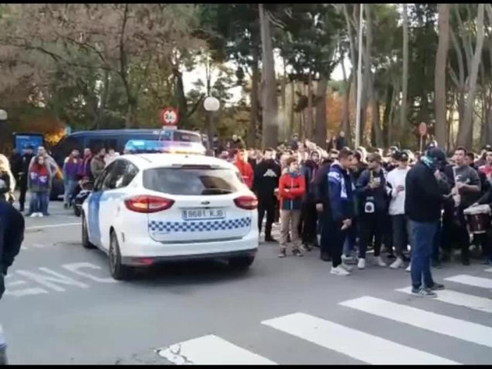 Las peñas esperan al SD Huesca