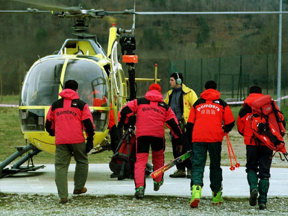 La Generalitat ha cobrado ocho rescates a víctimas imprudentes en una década