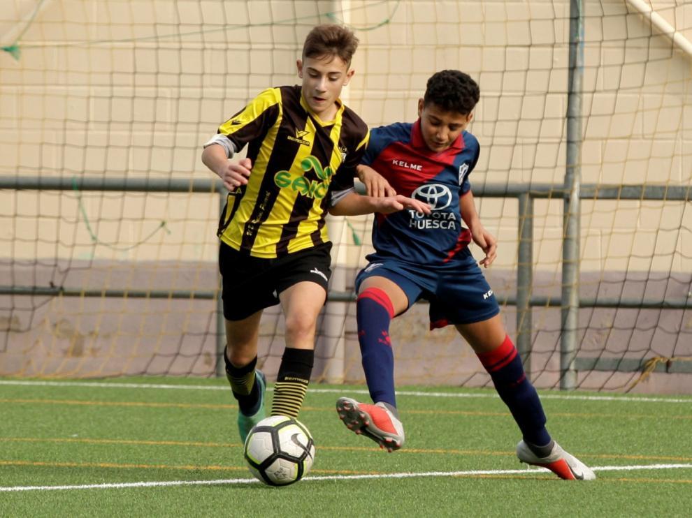 Fútbol- DH Infantil- Balsas vs. Huesca.