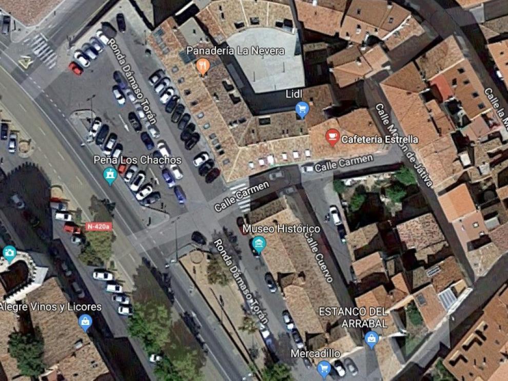 El incendio se ha producido en un piso de la calle Carmen.