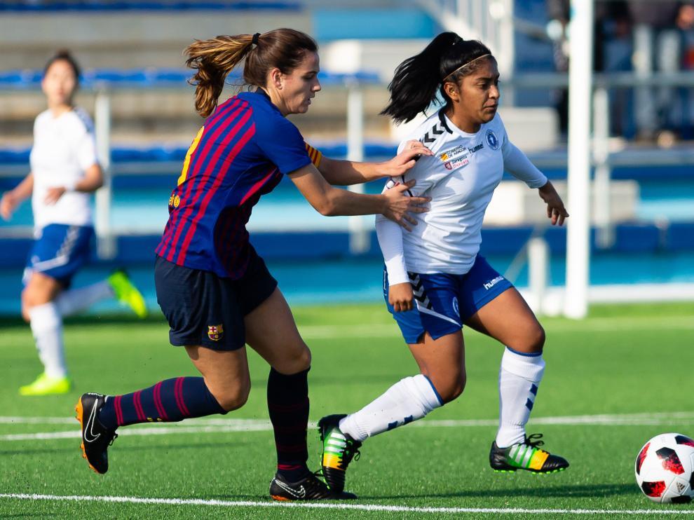Fútbol. Segunda División Femenina- Zaragoza CFF vs. Barcelona B.