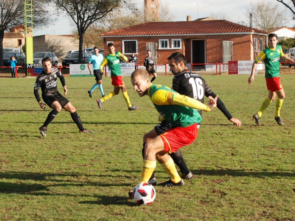 Fútbol. Tercera División- San Lorenzo vs. Tarazona.