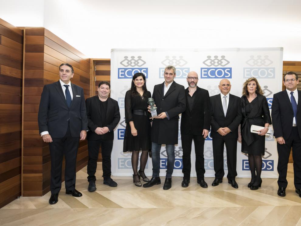 Vicente Gracia, Jorge Asín, Teresa Azcona, Samuel Zapatero, Luis Rabanaque, Rodolfo Bernad, María Jesús Burgaz y José Antonio Pueyo. guillermo mestre