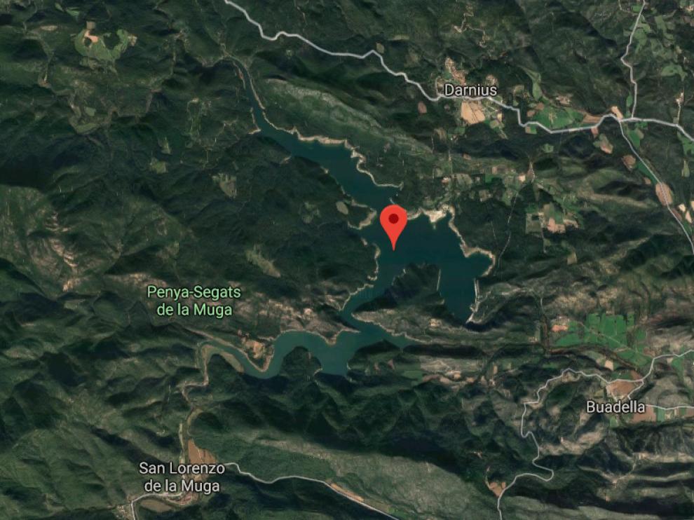 El pantano de Darnius Boadella, en Gerona