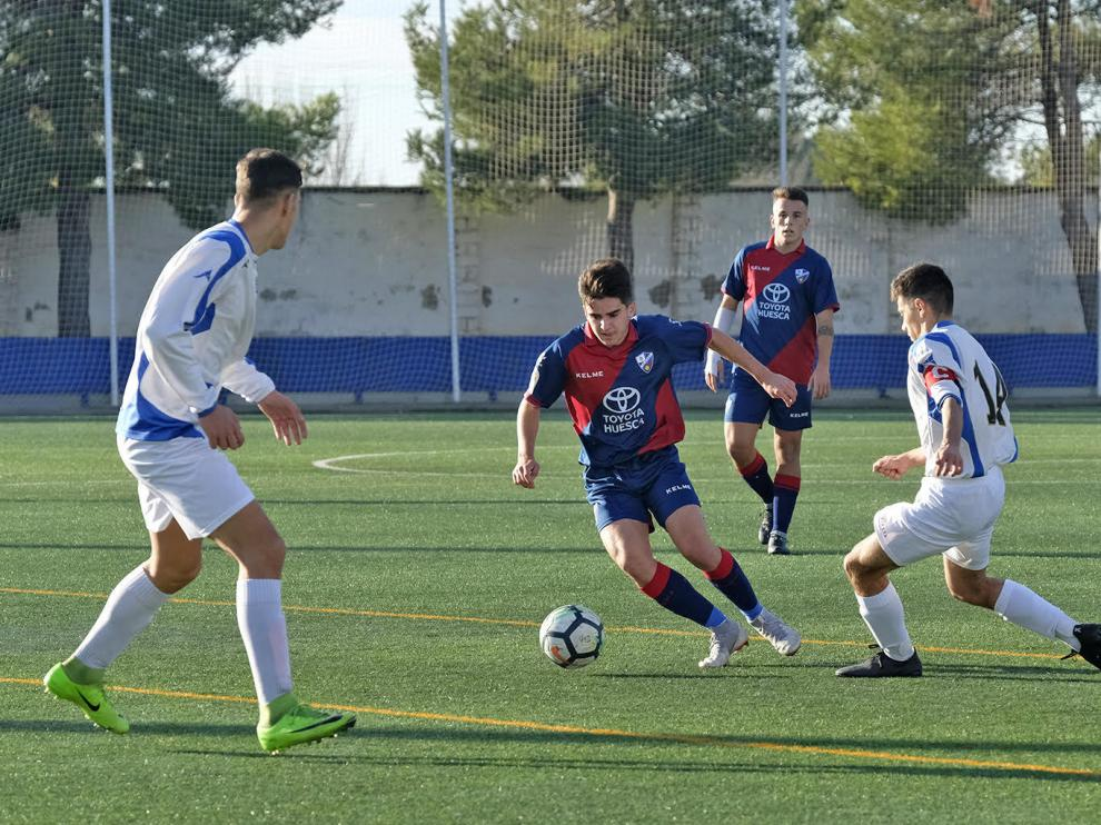 Fútbol. LNJ- Huesca vs. Valdefierro.