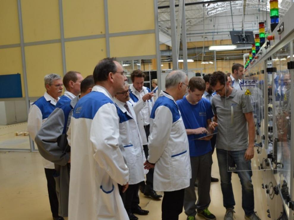 Demostración del prototipo Defect&Solutions en la planta de Hidria Dieseltec en Tolmin (Eslovenia)