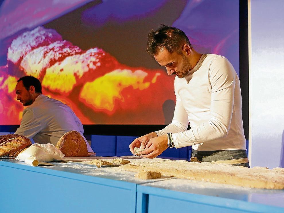 Jordi Morera, que se hizo el año pasado en México con el título de mejor panadero del mundo, participó en el congreso de la semana pasada.
