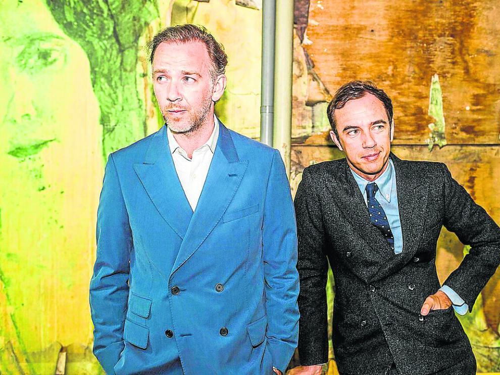 La pareja de 'discjockeys' belga 2manydjs actuará en Zaragoza el 1 de enero. lady press agency