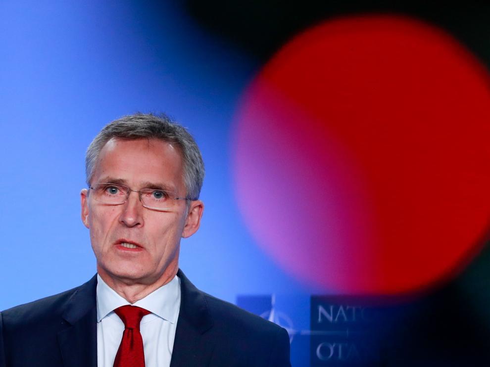 El secretario general aliado, Jens Stoltenberg.