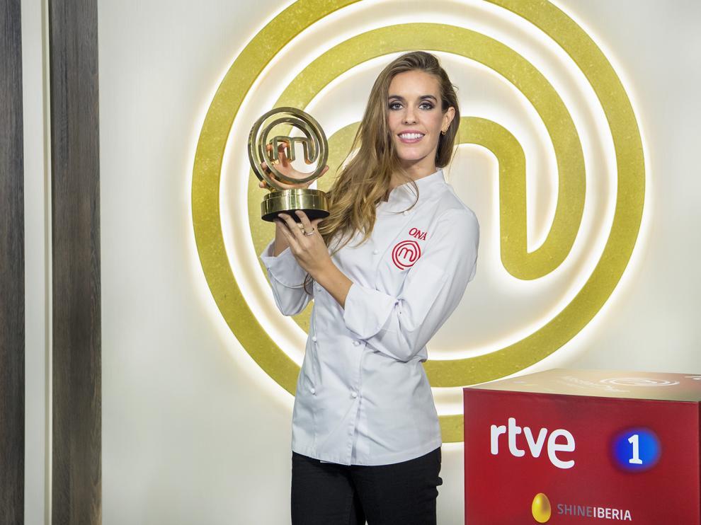 Ona Carbonell, ganadora de 'MasterChef Celebrity'.