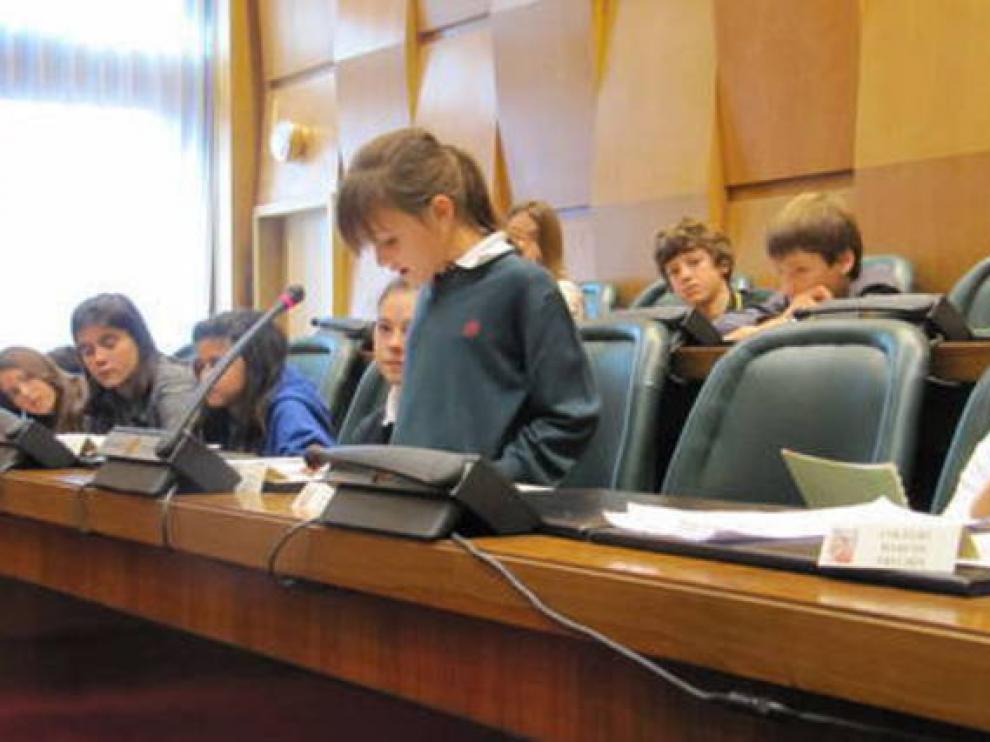 El consejo de la Infancia implica a niños y jóvenes en la toma de decisiones municipales.