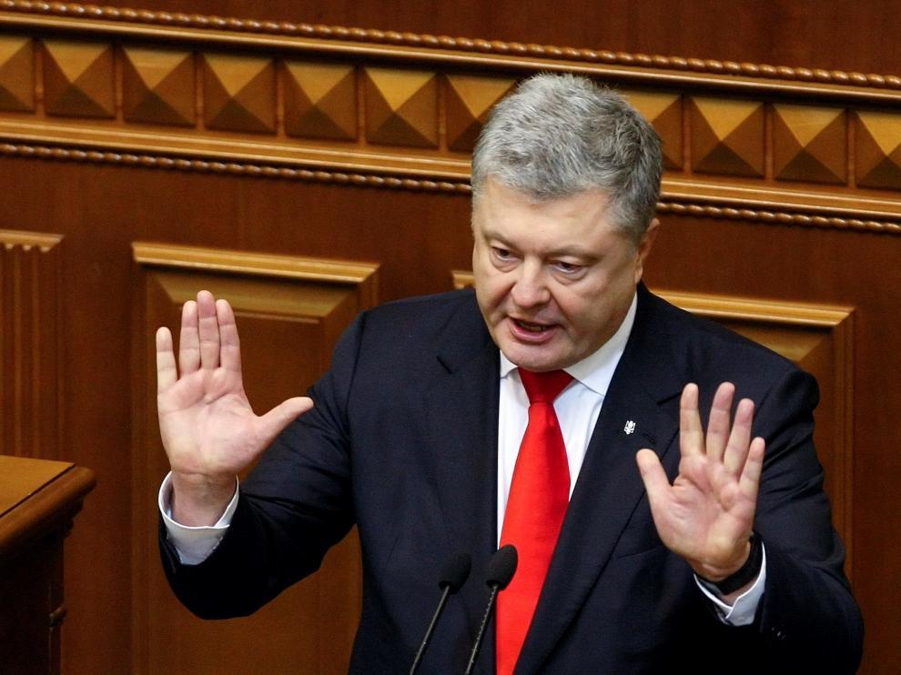 El presidente ucraniano, Petro Poroshenko.
