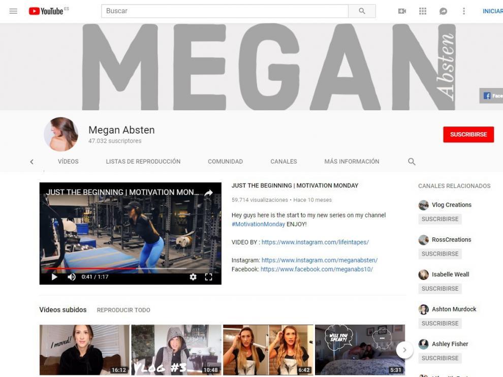 La joven cuenta con más de 47.000 suscriptores en su canal de Youtube.