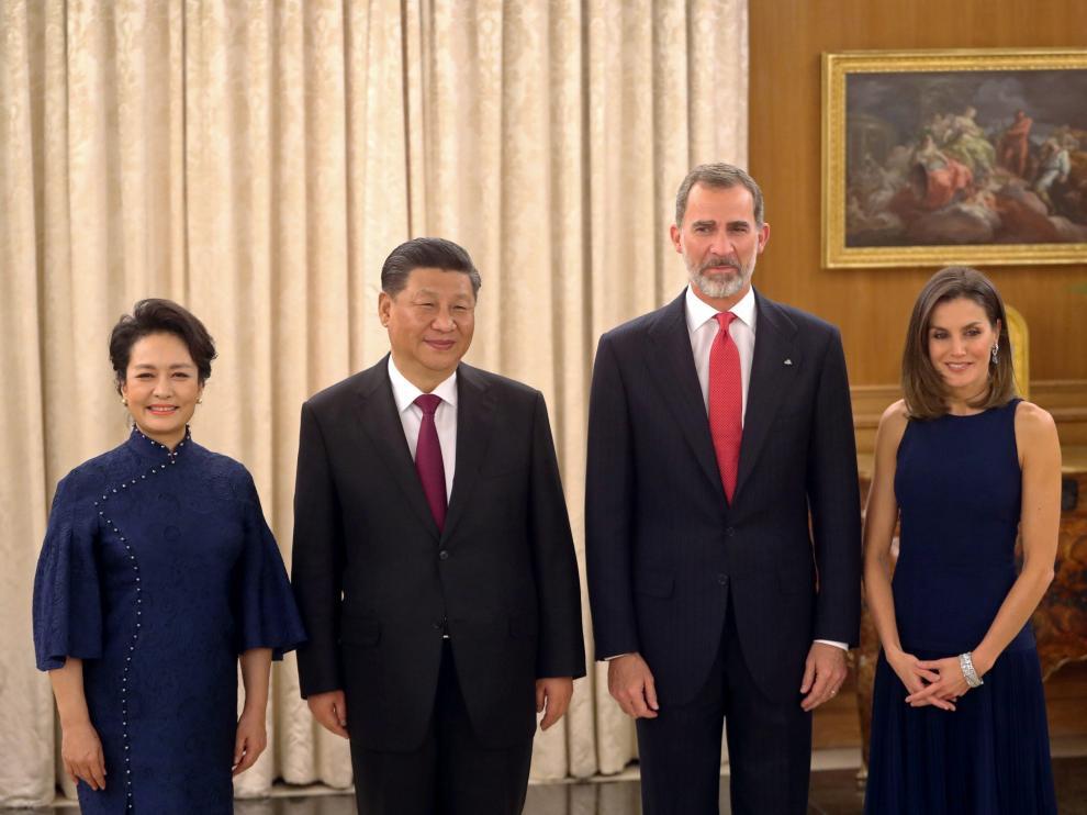 Visita del presidente Chino a España