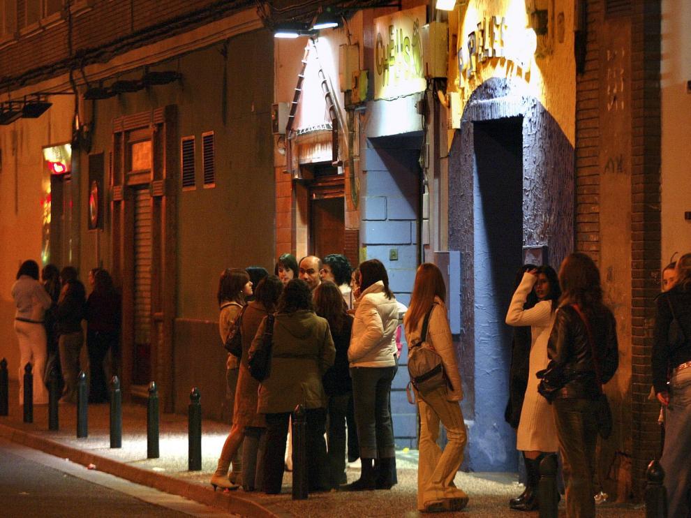Bares del entorno de la calle de Moncasi.