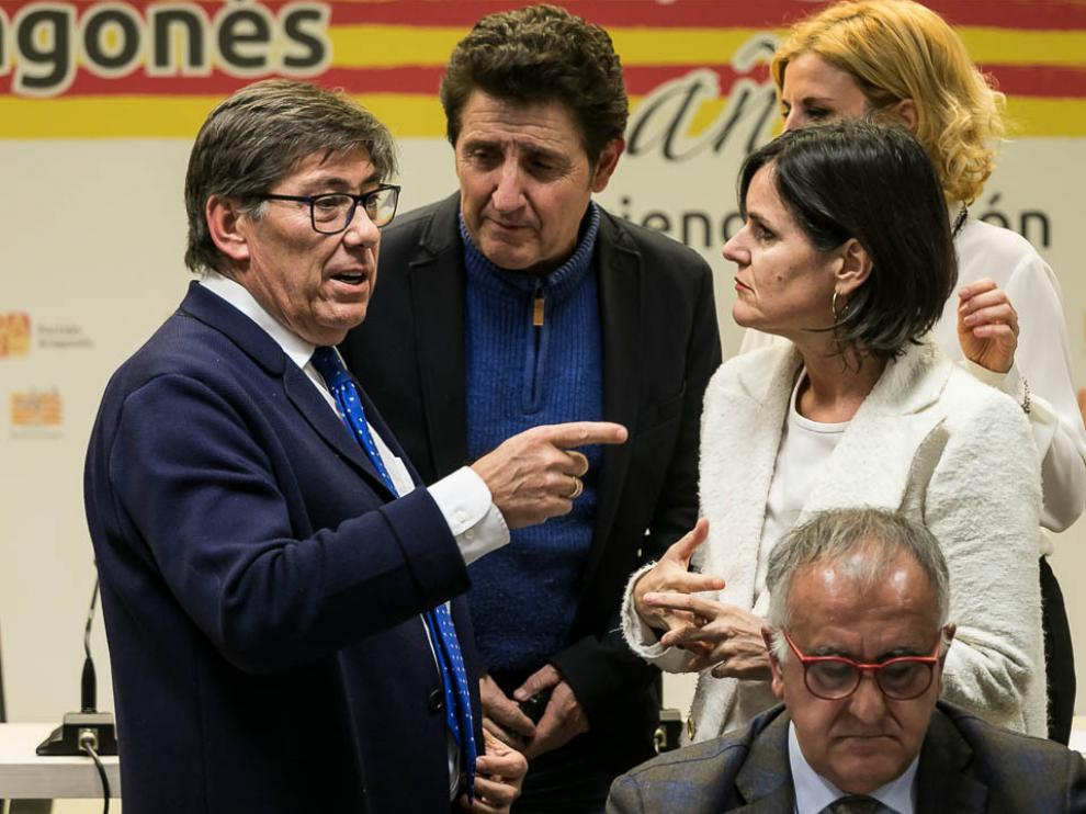El presidente del Partido Aragonés (PAR), Arturo Aliaga.