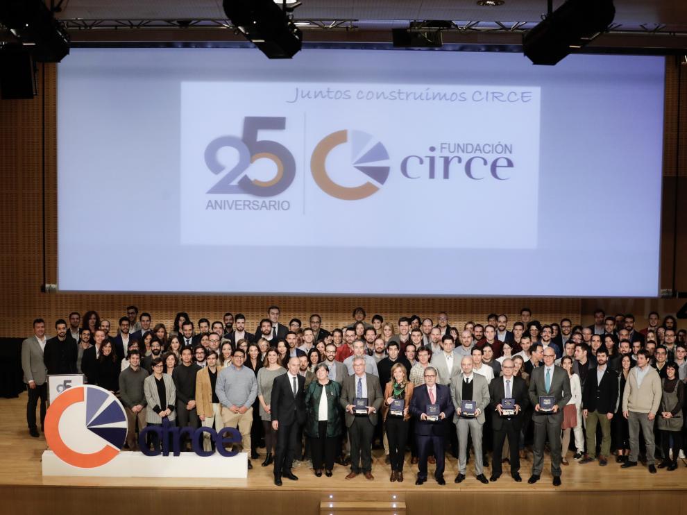 La fundación celebró ayer sus 25 años en una gala con los patronos y los trabajadores.