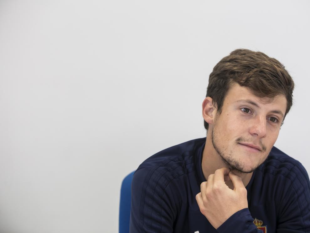 Marc Gual, durante una entrevista para HERALDO.