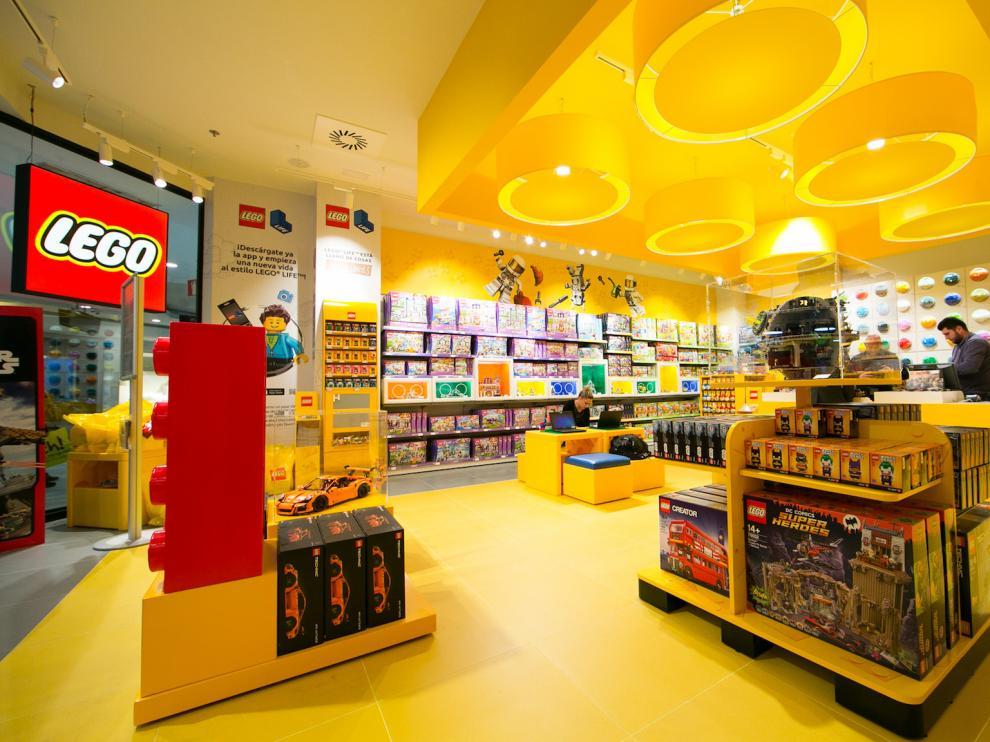 La nueva tienda de Lego en Puerto Venecia.