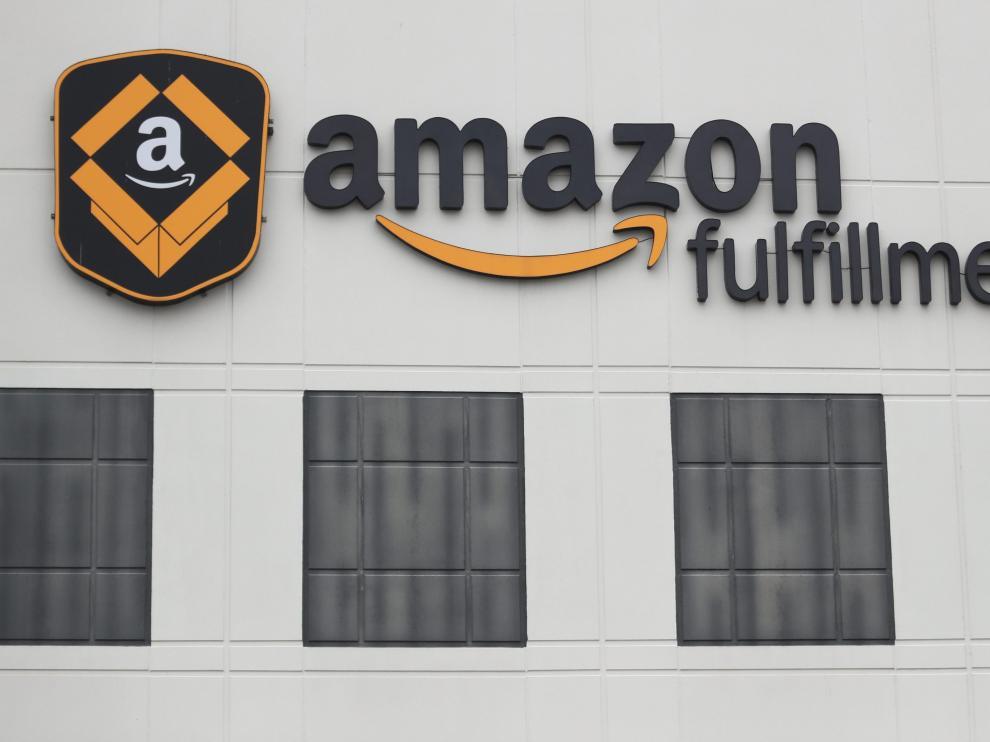 Imagen de una empresa de la compañía estadounidense Amazon.