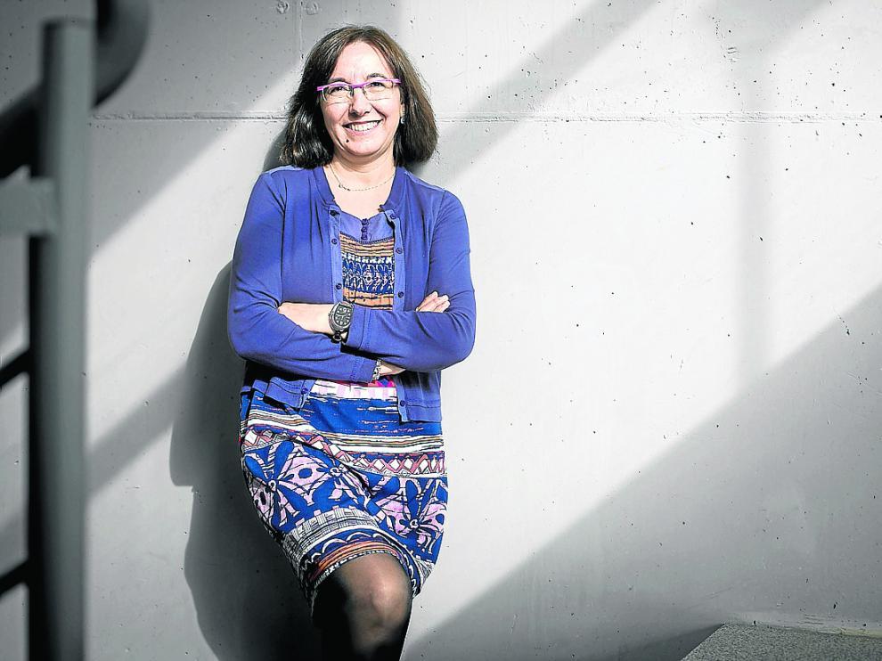 Conchita Gimeno, investigadora del Instituto de Síntesis Química y Catálisis Homogénea