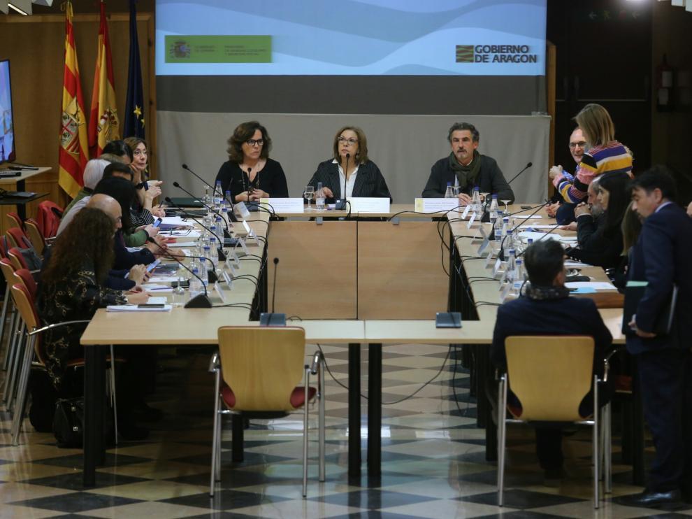 La Comisión Interautonómica de Drogas se ha realizado este jueves por primera vez en Aragón