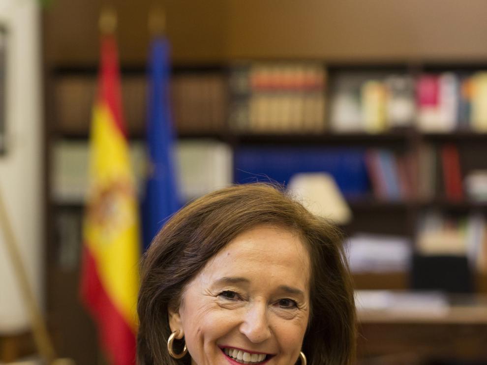 Ana Santos, directora de la Biblioteca Nacional