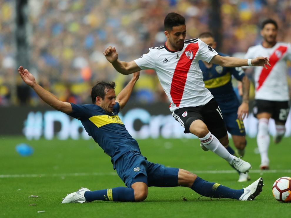 El partido de ida de la final de la Copa Libertadores entre Boca y River del pasado 11 de noviembre.