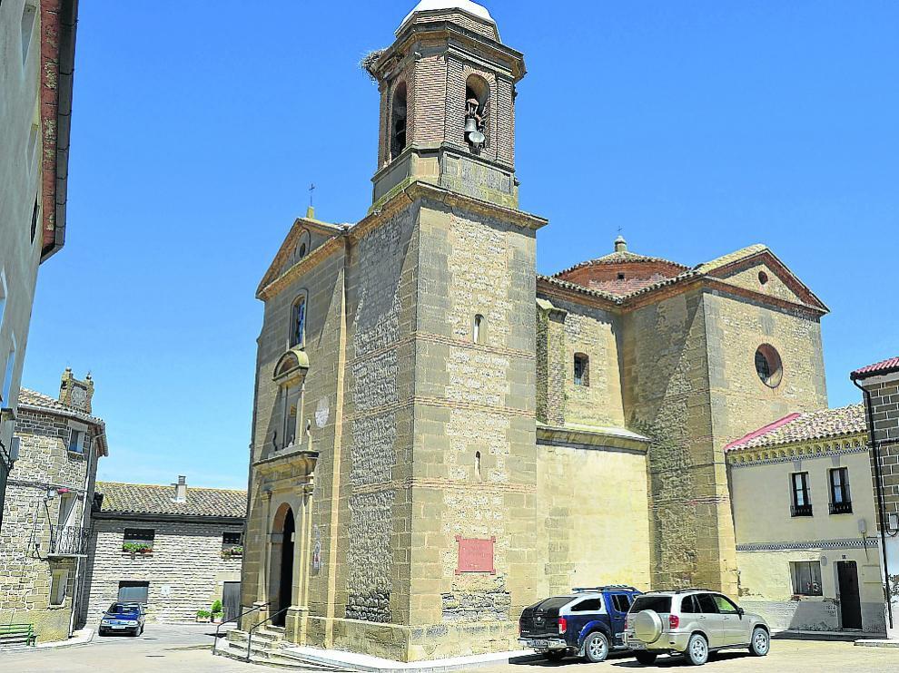 La iglesia de Santa Águeda en Sierra de Luna